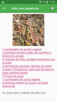 Recetas de pescados y mariscos en español gratis. screenshot 5