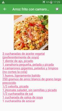 Recetas de pescados y mariscos en español gratis. screenshot 3