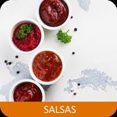 Recetas de salsas en español gratis sin internet. icon