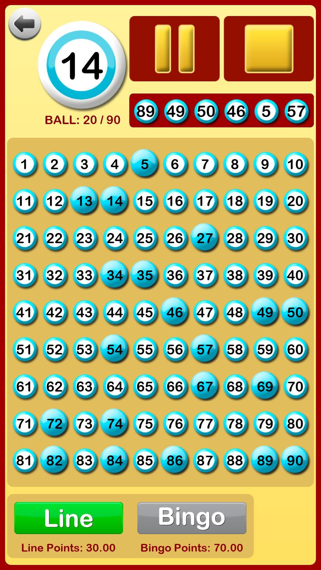 Bingo Spiel Download