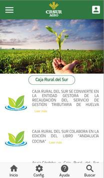 CRSur Agro poster
