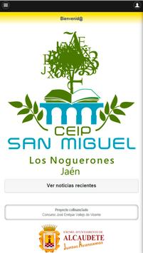 CEIP San Miguel poster