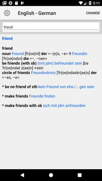 German Dictionary poster