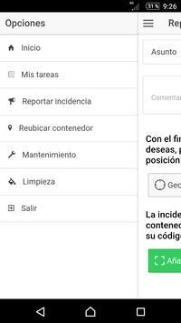 Gestión de contenedores apk screenshot