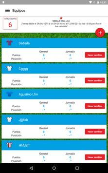 Liga Fantástica Marca 2015 apk screenshot