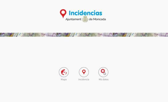 Incidencias Moncada screenshot 4