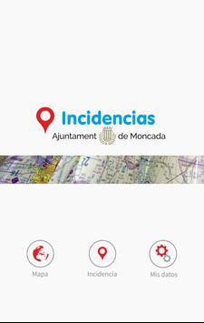 Incidencias Moncada poster