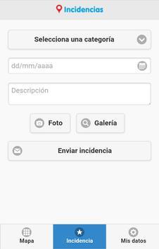 Incidencias Moncada screenshot 2