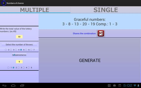 Numbers of chance screenshot 2