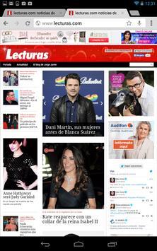 Revista lecturas.com apk screenshot