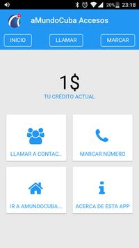 aMundoCuba Accesos screenshot 1