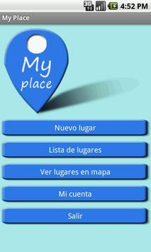My place poster