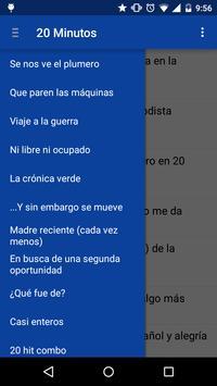 Lector RSS para 20Minutos.es apk screenshot
