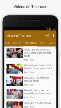 Videos de TiparracoSA apk screenshot