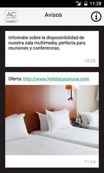 Hotel AC A Coruña apk screenshot