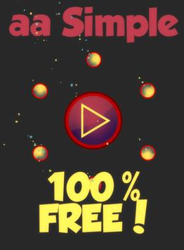 aa Simple - 100% FREE! poster