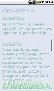 Instantes screenshot 2
