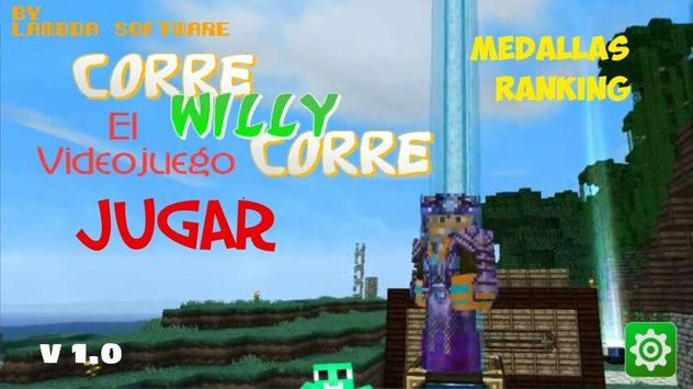 Corre Willy Corre poster