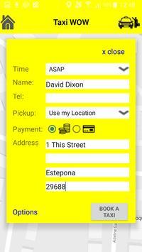 TaxiWOW apk screenshot