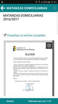 Helechosa Informa apk screenshot