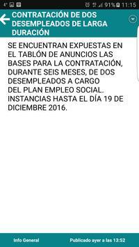 Mohedas de Granadilla Informa apk screenshot