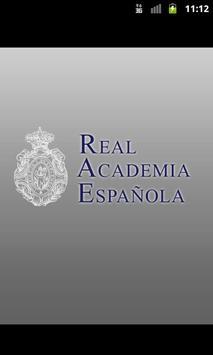 Diccionario de la RAE poster