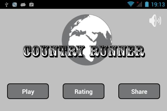 Stickman Country Runner poster