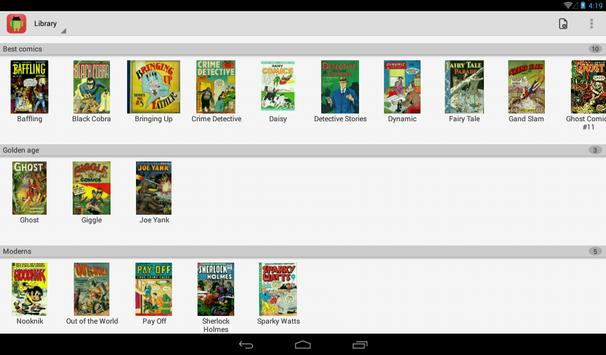 Comic Time Reader apk screenshot