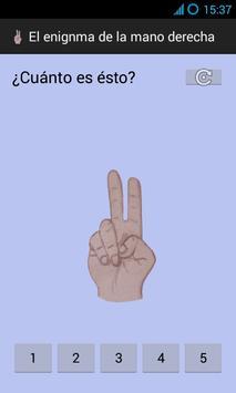 El enigma de la mano derecha apk screenshot