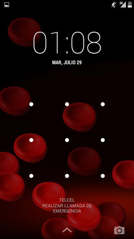 Red Blood Cells Live Wallpaper Screenshot 2