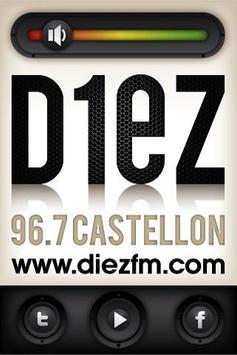 Diez FM (No funciona) poster