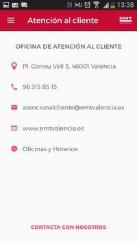 EMT Valencia apk screenshot