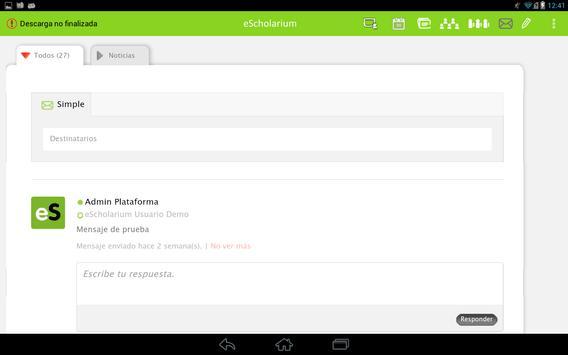 eScholarium screenshot 1