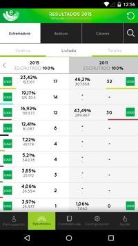Elecciones Extremadura 2015 apk screenshot