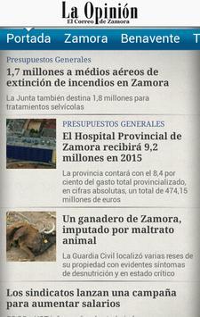 La Opinión de Zamora apk screenshot