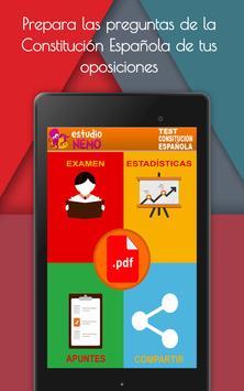 Test Constitución Española Gratis apk screenshot