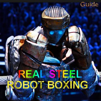 Energy Steel Robot Boxing tips poster