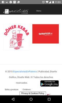 Especialistas en Paterna apk screenshot