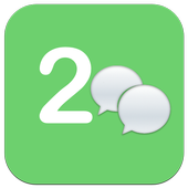 2 Lines for wechat ★root icon