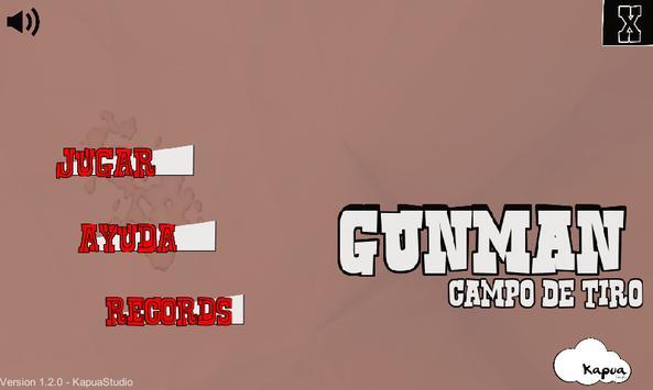 GunMan - Galería de tiro poster