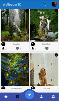 Wallpapers 3D apk screenshot
