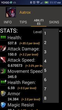 Champions DataBase screenshot 3