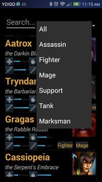 Champions DataBase screenshot 7