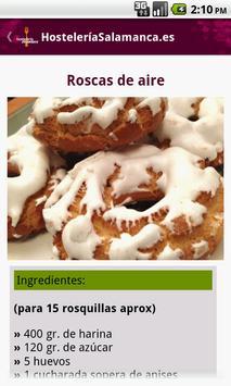 Hostelería Salamanca apk screenshot