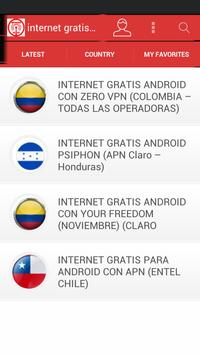 Internet Gratis Android 2016 poster