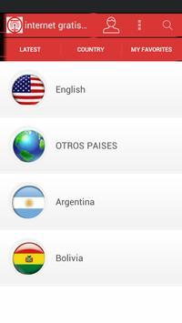 Internet Gratis Android 2016 apk screenshot