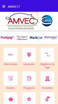 Congreso AMVEC 2017 poster