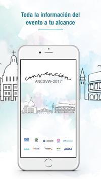 Convención ANCGVW 2017 poster