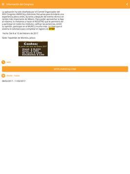 CONGRESO AMVECAJ screenshot 5