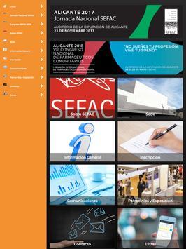 Congreso SEFAC 2018 screenshot 4